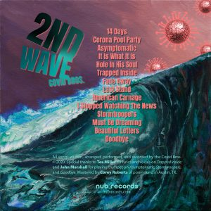 Song list and credits for the Covid Bros. Album, 2nd Wave